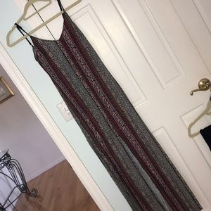 Maxi dress with slit from American Eagle